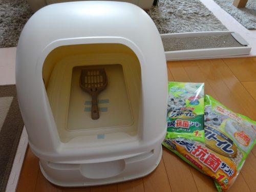 猫用デオトイレ一式