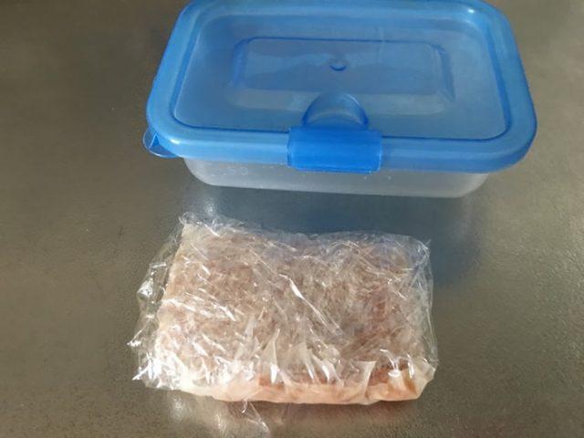 ウェットフードの冷凍保存
