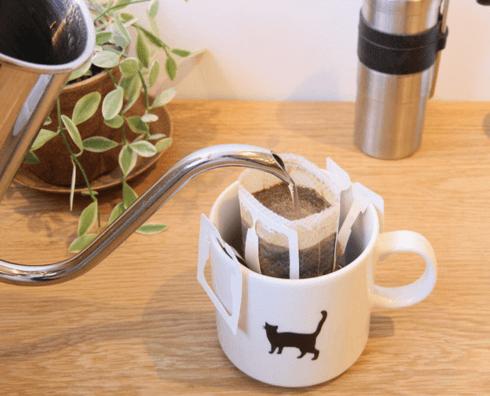 キングリーコーヒーのネコ印マグカップ