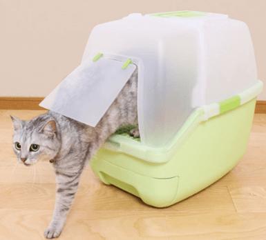 楽ちん猫トイレ(グリーン)