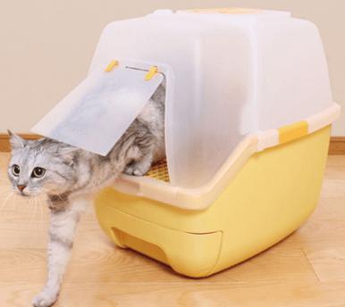 楽ちん猫トイレ(オレンジ)