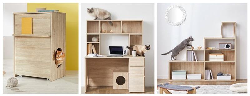 ロウヤの猫家具