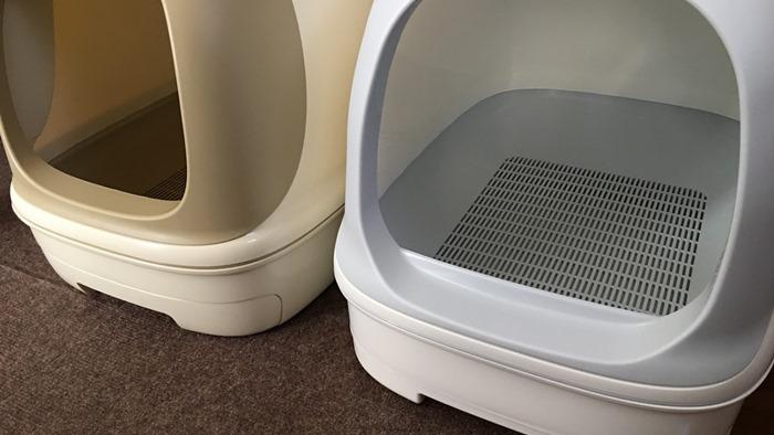 ニャンとも清潔トイレの出入り口の高さがリニューアル