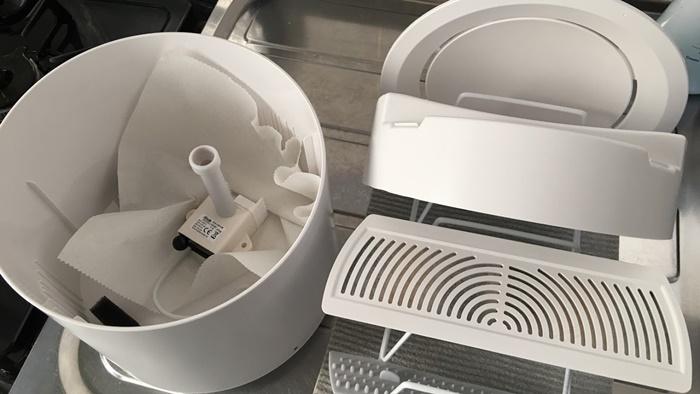 自動給水器ペッツリーのお手入れ方法